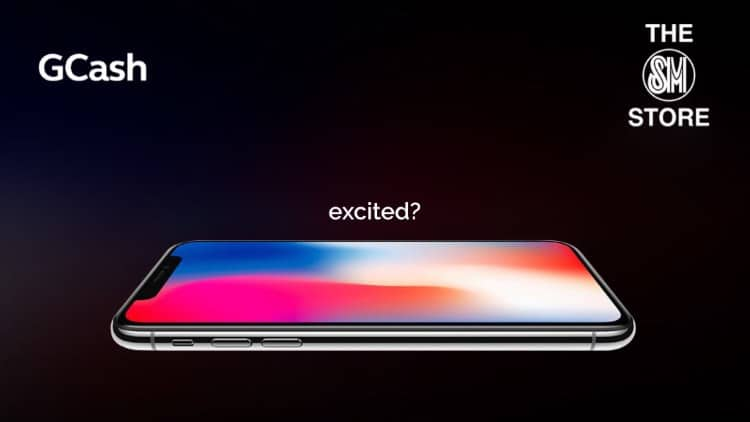 GCash is giving away 10 iPhone X for The SM Store shoppers!