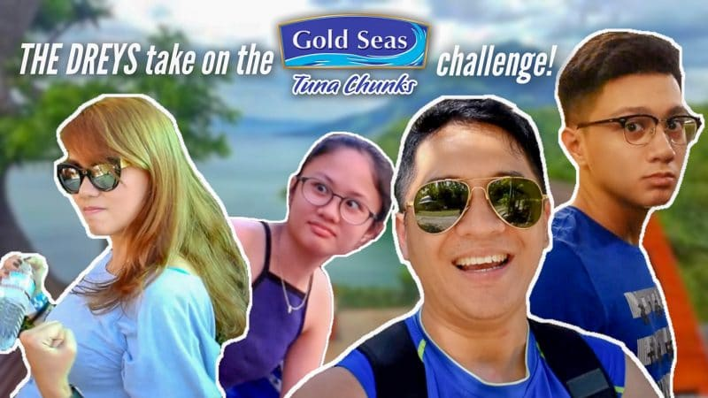 VLOG: The DREYS take on the Gold Seas Tuna Chunks Challenge