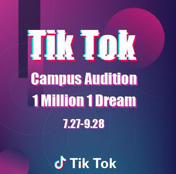Tik Tok launches Campus Audition in Metro Manila to inspire all dream-seekers and discover the next superstars!