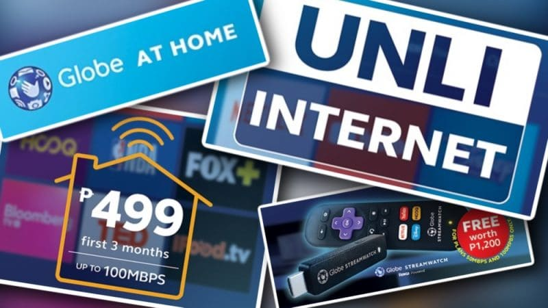 NOW's the best time to switch to Globe At Home Go Unli broadband plans!