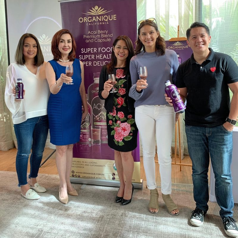 Organique Acai Berry and the inspiring story of the woman behind it – Ms. Cathy Salimbangon