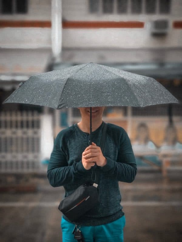 Knirps keeps me simple and stylish even in the rain!