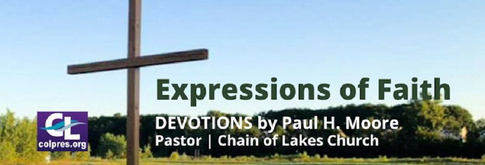 Expressions of Faith website banner