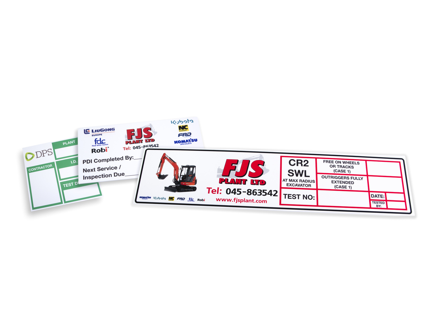 safety graphics and labels - plant and equipment labels