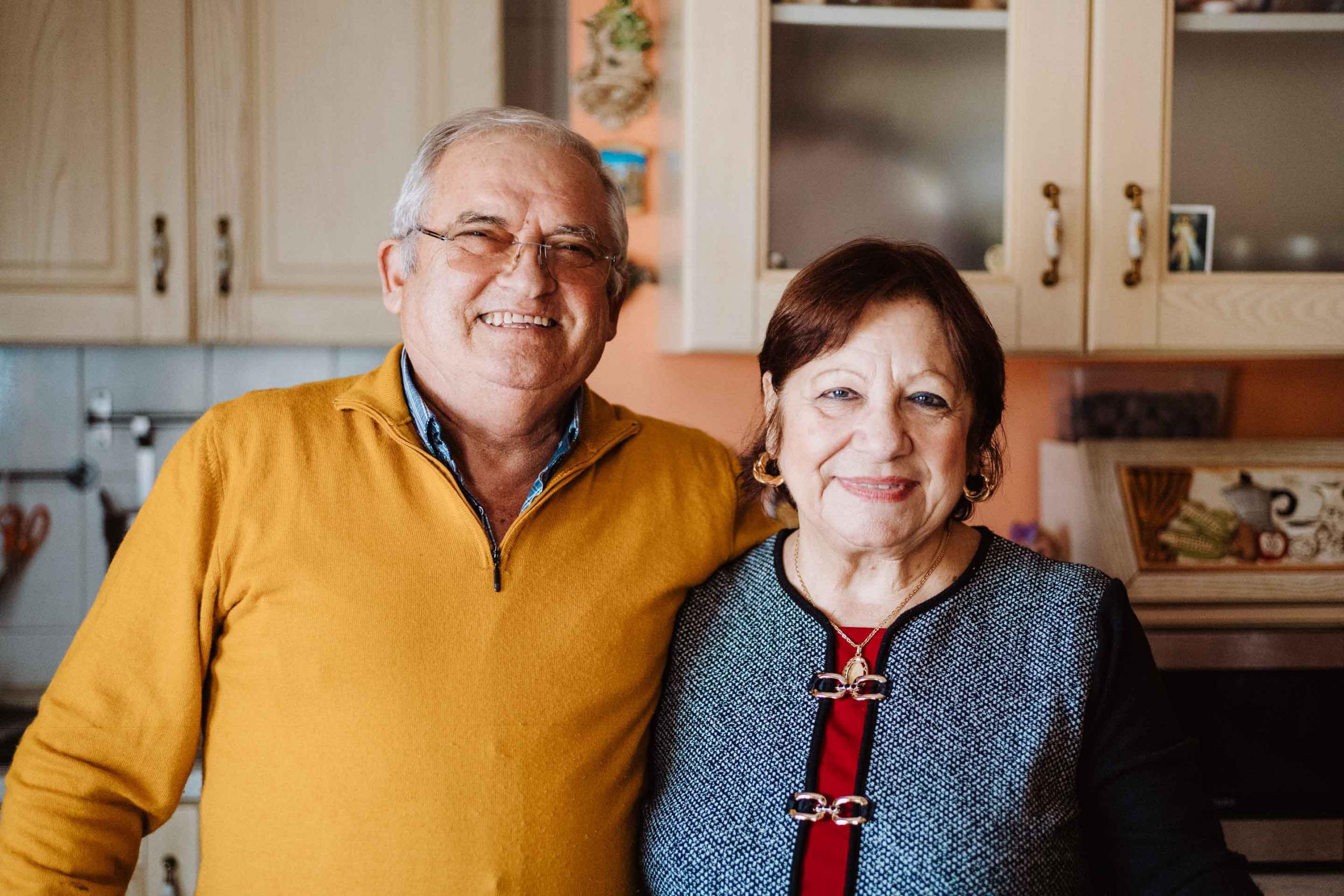 my father and my mom Giovanni - Giuseppe Torretta