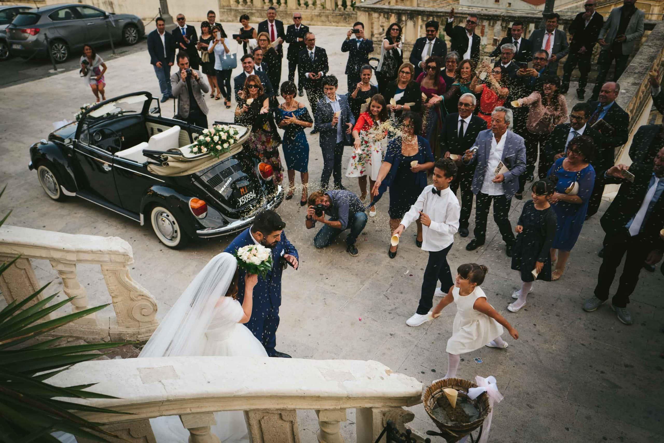 wedding day in Sicily - glam