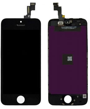 iPhone 5S LCD A+ Touchscreen - zwart