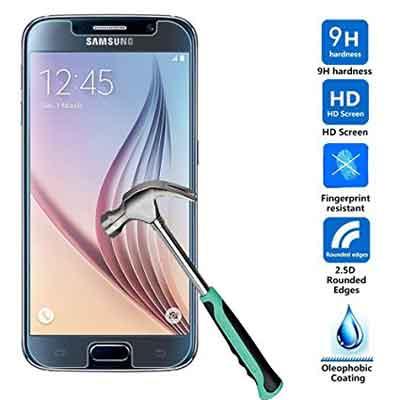Samsung Galaxy S6 glazen screenprotecor - transparant - 9h - 0,3 mm