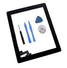 iPad 2 scherm - Zwart compleet inclusief rand