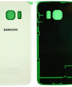 Samsung Galaxy S6 Edge achterkant-  Wit - originele kwaliteit