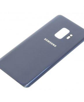 Voor Samsung Galaxy S9 achterkant glas  - Blauw
