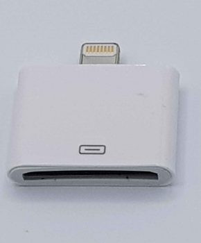 30 Pins Naar 8 Pin Kabel Adapter - Voor Ipad / iPhone - Wit