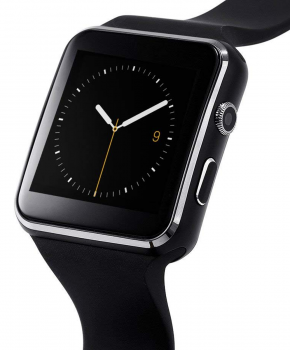 Smartwatch - Sporthorloge - X6 - zwart -  voor android en IOS