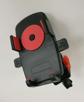 Universele (motor) fiets telefoon houder - red circle