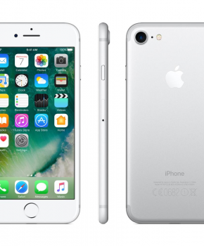 Apple iPhone 7 - 32GB - zilver  - remarketed - Als nieuw +oordopjes