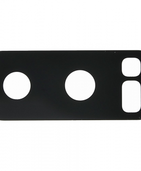 Voor Samsung Note 8 achtercamera lens glaasje - zwart