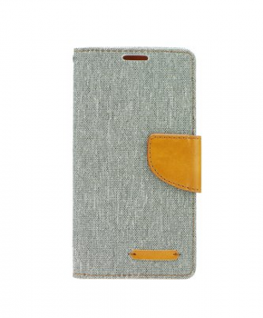Canvas Book case - voor de Apple iPhone 7/8 - grijs