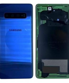 Voor Samsung Galaxy S10 achterkant reparatieset - blauw