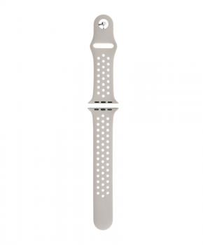 Sport strap voor Apple Watch 42/44mm / B010 - licht-grijs