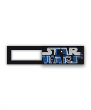 Webcam cover - licentie™ - Star Wars R2-D2 - zwart
