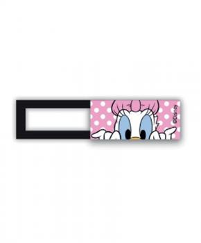 Webcam cover / schuifje  - licentie™ - Donald Duck - roze