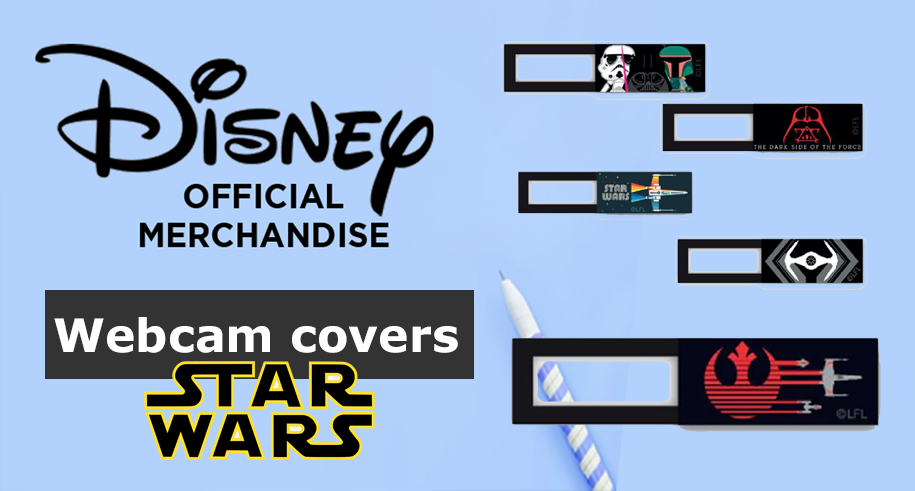 Starwars webcam covers