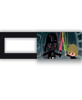 Webcam cover / schuifje  - licentie™ - Star Wars 03 - zwart