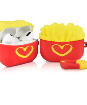 Cartoon Silicone Case voor Apple Airpods Pro - I love Fries