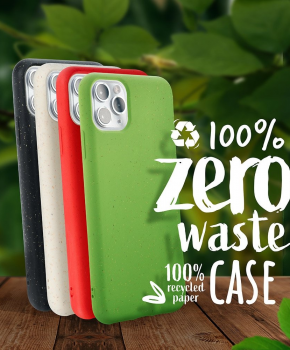 Forcell BIO - Zero Waste-hoes voor iPhone 11 pro - wit