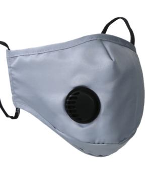 N95 mondmasker / mondkapje herbruikbaar - grijs