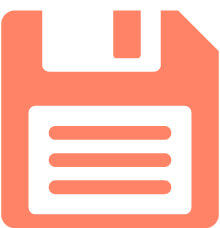 Icon-floppy-disk-coral