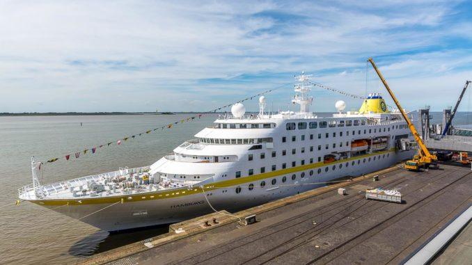 Ab 2020 ist die MS Hamburg umweltschonender unterwegs