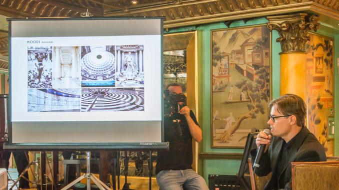 Stefan Seidenfaden erklärt das Design der Costa Smeralda