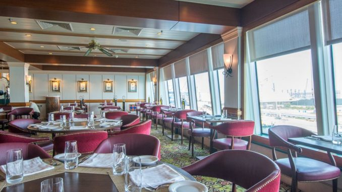 Buffetrestaurant der Norwegian Spirit