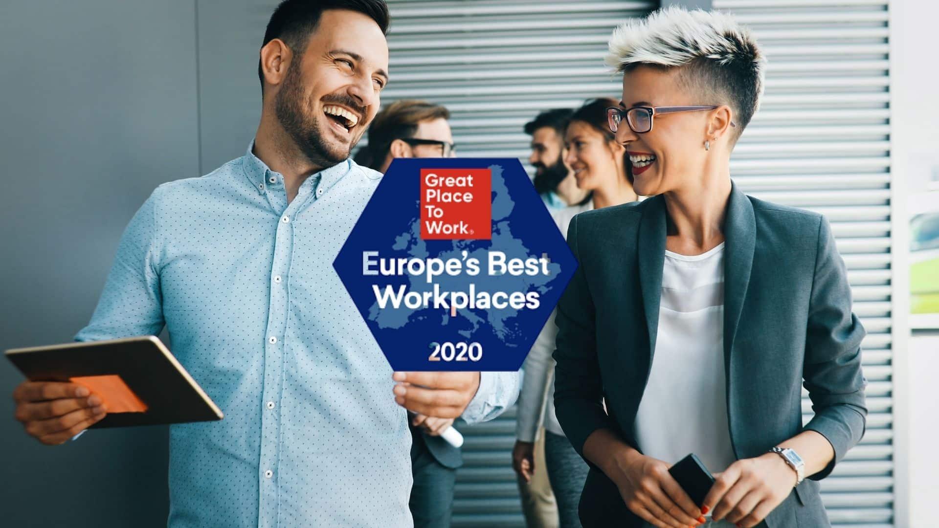Great Place to Work 2020 : quelles sont les entreprises européennes les plus investies dans la qualité de vie au travail ?