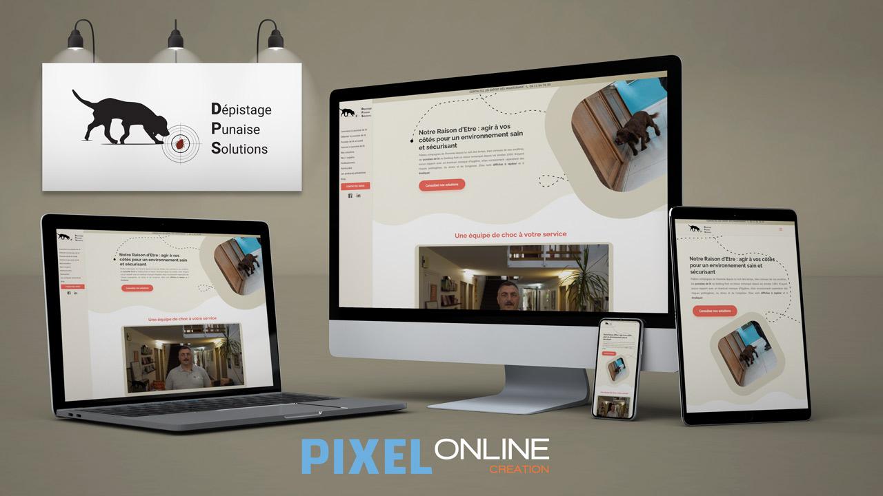 Création site Internet, Blog professionnel, référencement – DPS
