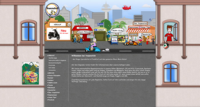vespenstich frankfurt webdesign