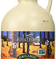 Coombs Family Farms Maple Syrup, Organic, Grade A, Dark Color, Robust Taste, 32-Ounce Jug