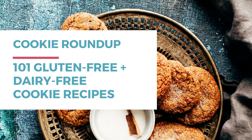 Gluten-free Dairy-free Cookies: 101 Recipes