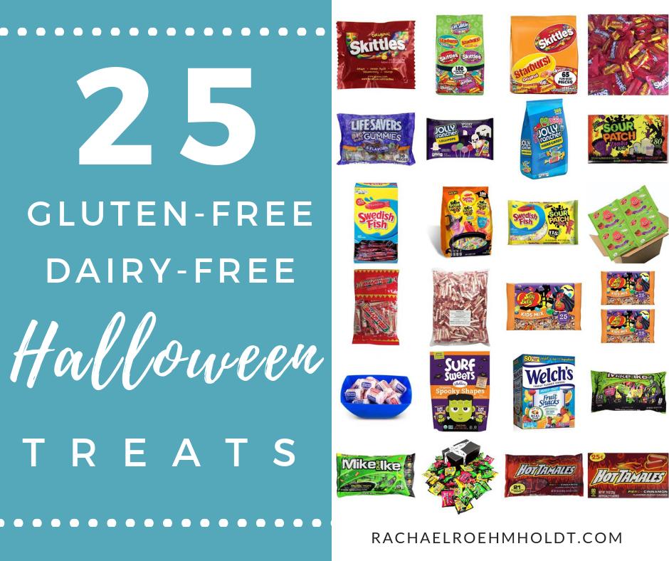 25 gluten-free dairy-free Halloween treats