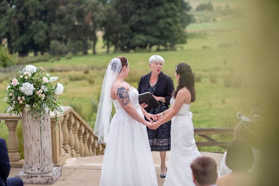 Brides at Woodhill Hall, Northumberland