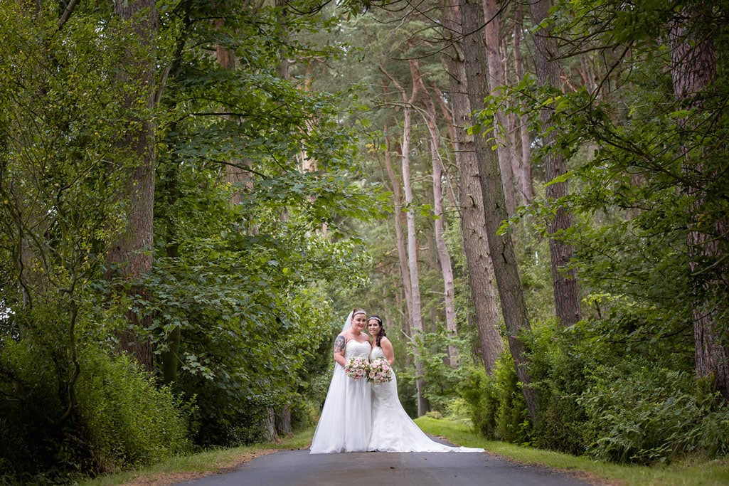 Bridal photography at Woodhill Hall