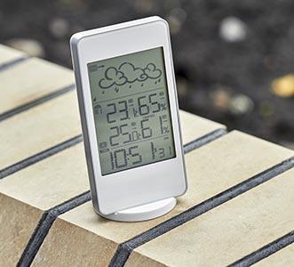 termómetro exterior