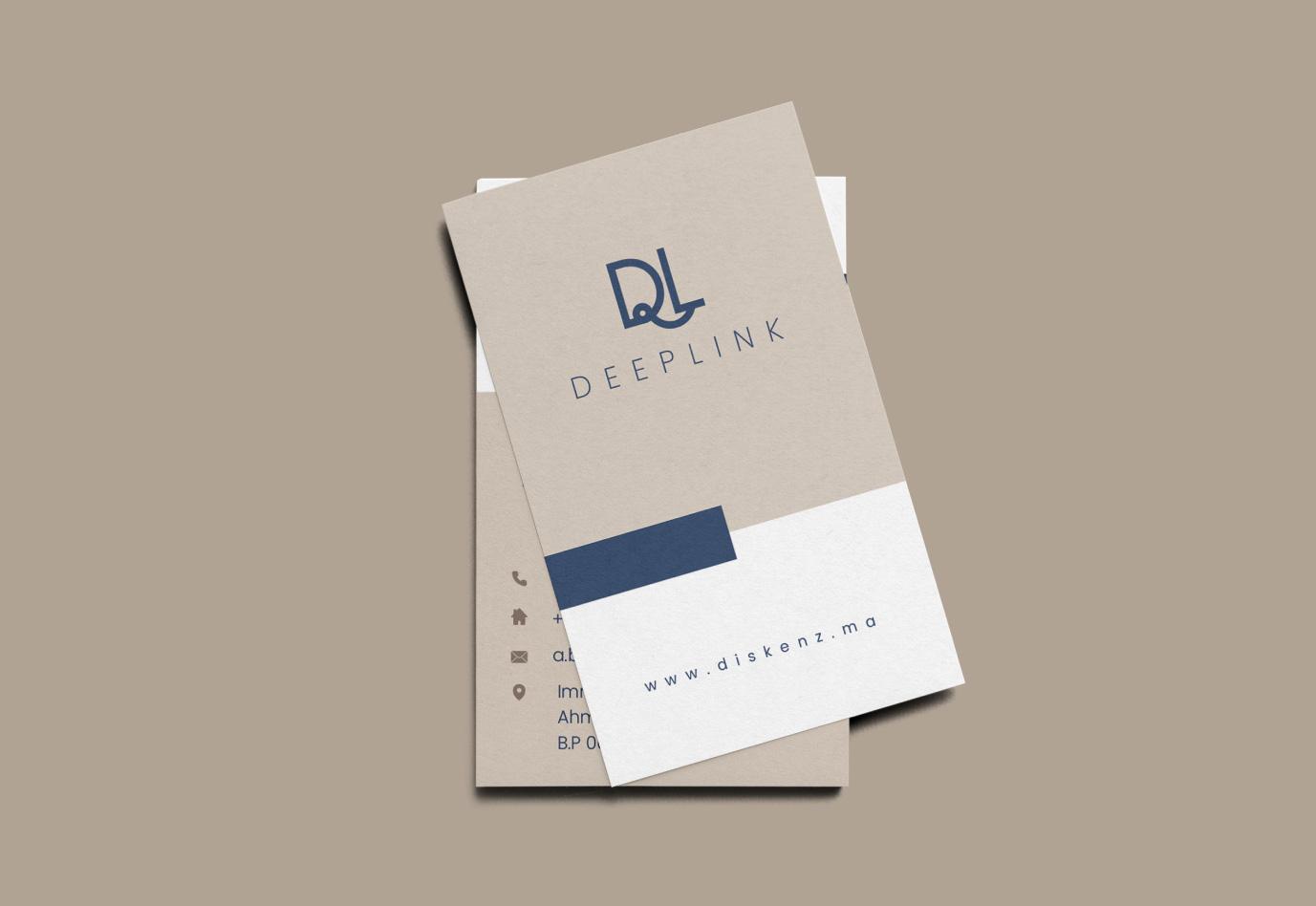 portfolio-carte-visite-deeplink-agence de communication-vuenova