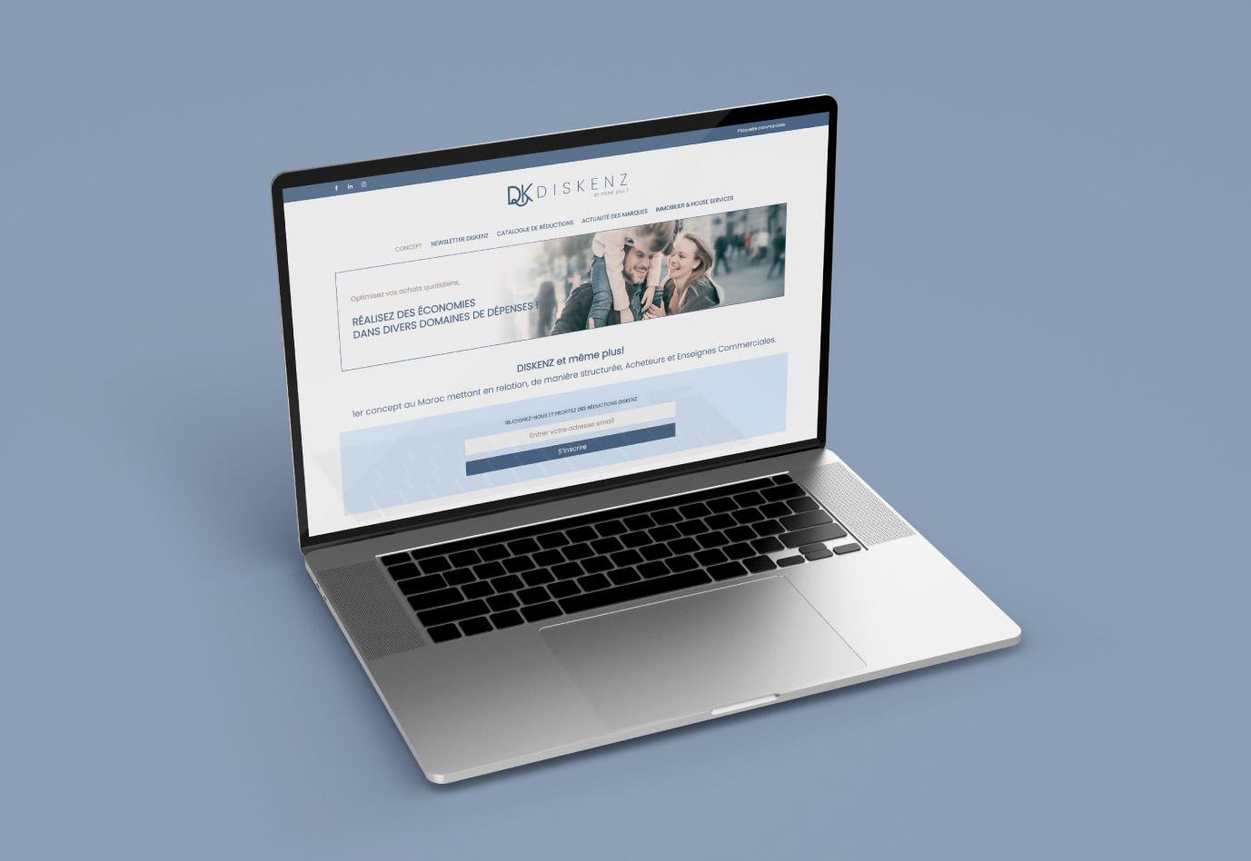 portfolio-siteweb-diskenz-agence de communication -vuenova