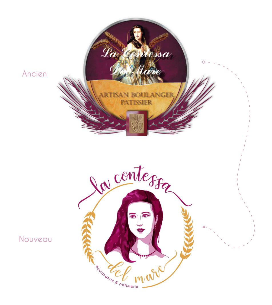 portfolio-Création logo -contessa