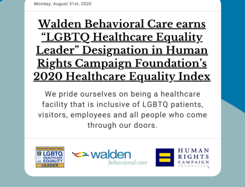"Walden earns ""LGBTQ Healthcare Equality Leader"" Designation from HRC"