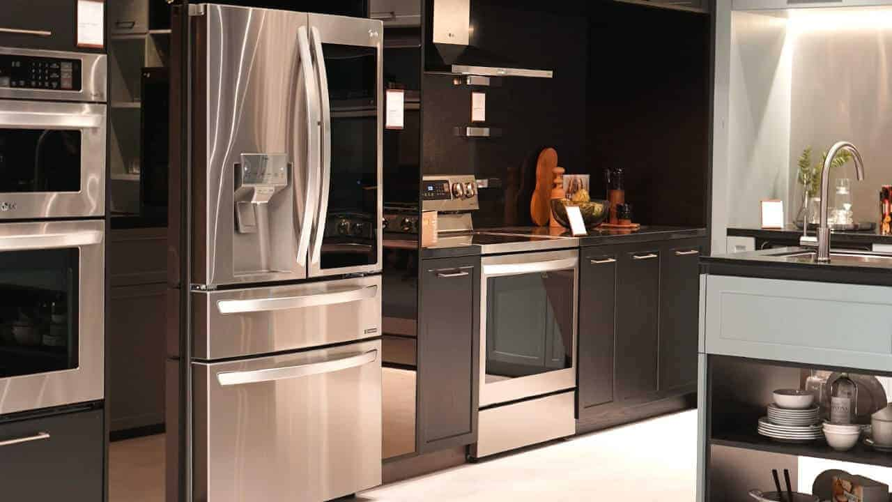 LG ThinQ range has the best smart kitchen appliances for smart kitchens.