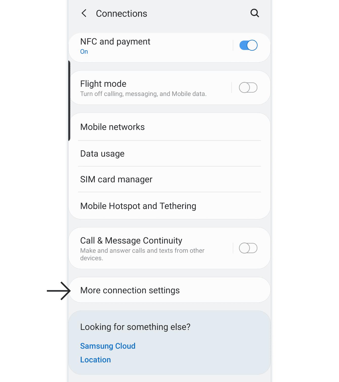"""Cliquez sur """"Plus de paramètres de connexion."""""""