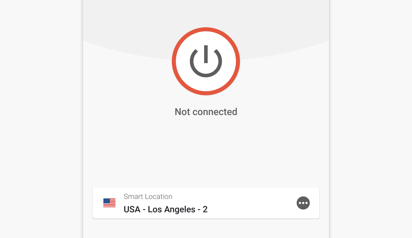 You are now disconnected from the VPN.